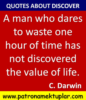 QUOTES ABOUT DISCOVER (Charles Darwin)