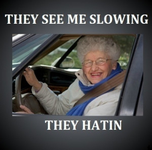 Why do old people drive slow? – 'The Why'