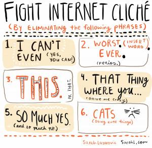 Fight Internet cliches