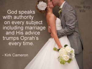 God created marriage; it's His plan.
