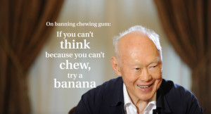 Tags: Mr Lee Kuan Yew , Singapore news , QUOTES and memorable