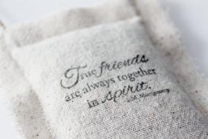 Best Friend Long Distance Going Away Gift, True Friends Anne of Green ...