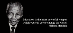 quote is based from nelson mandela a nd my opi nion about his quote ...