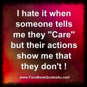 hate it when someone ....