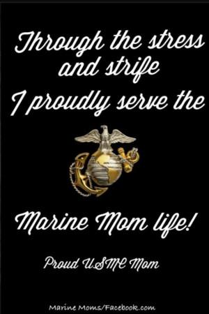 proud marine mom quotes | via dawn richard
