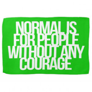 Inspirational and motivational quotes towel