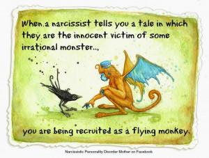 Narcissistic Mother's Flying Monkeys - Gail Meyers