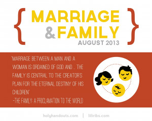 August: Marriage & Family