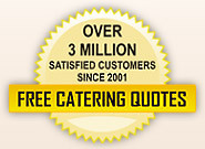 Find local caterers for Bar Mitzvahs