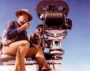 in real life John Wayne is not as flourishing as his John Wayne movies ...