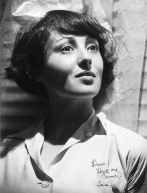 Luise Rainer by George Hurrell