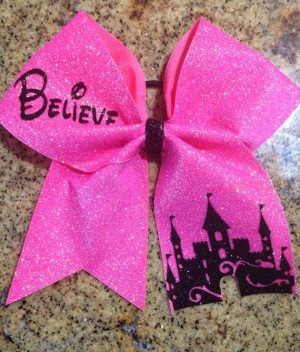 Cheer Bow Believe Summit Worlds Nationals by PinkOutsideTheBow, $15.00 ...