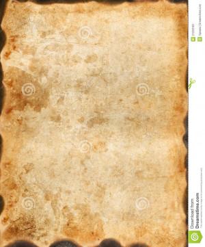 Vintage Burnt Paper Stock Image - Image: 21233181
