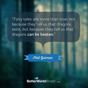 quote from Neil Gaiman (found via Goodreads).