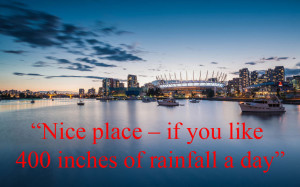 Vancouver - The best travel quotes of all time