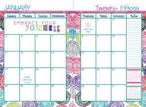 Each month has a fun layout for the monthly calendar. It has U.S ...