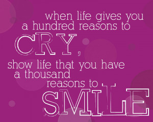 Reasons To Smile Quotes Tumblr Images Wallpapers Pics Pictures ...
