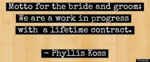 marriage work in progress