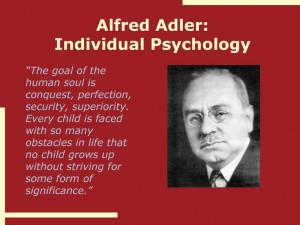 Alfred Adler-Social Psychology