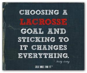 Lacrosse Quotes Motivational