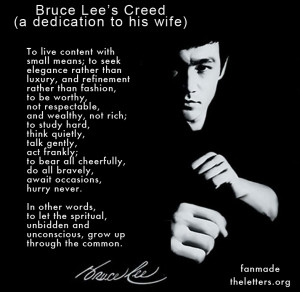 Bruce Lee's Quotes   Celebrity Quotes