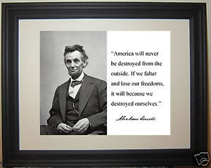 Abraham-Lincoln-America-will-Autograph-Quote-Framed-Photo-Picture-nm2
