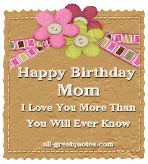 ... tags for this image include: birthday cards and happy birthday mom