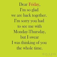 sayings about friday funny | Friday Funny Quotes On Pinterest » Its ...