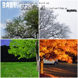 Seasons Quotes About Sayings Picture