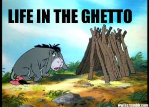 ... , funny, ghetto, ghetto pooh, haha, life, life in ghetto, lol, pooh