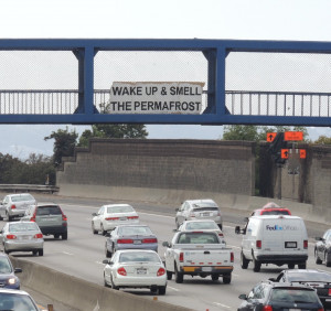... freeways around the San Francisco Bay Area, quotations by Brian Eno