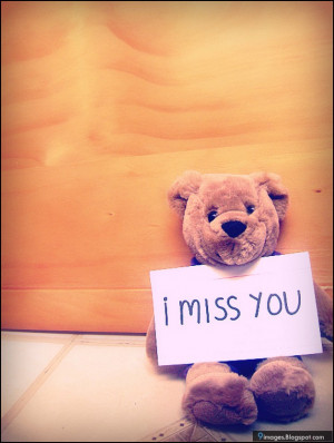 quotes, i-miss-you, teddy, bear, cute