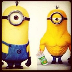 TransformationTuesday | #Minions do #workout. | Body by #Jake # ...