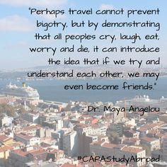 Dr. Maya Angelou on #travel: