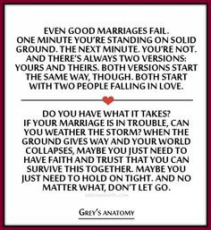 ... is in trouble, can you weather the storm? ~Grey`s Anatomy quotes. More