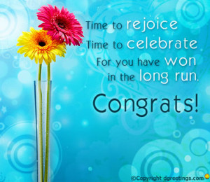 More Quotes on Congratulations