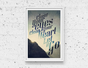 Do it yourself Printable Typographic Quote Home by Promopocket, $6.00