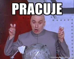 Dr. Evil Air Quotes - PRACUJE