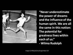 Wilma Rudolph #quote