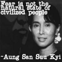Human Rights Aung San Suu Kyi Quote