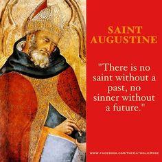 saint pro nobis ora pro augustine wisdom catholic saint catholic ...