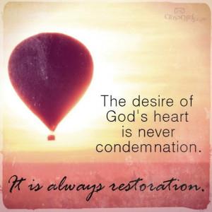 The Desire of God's Heart