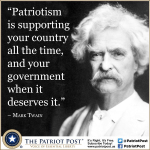 Quote Mark Twain The Patriot Post