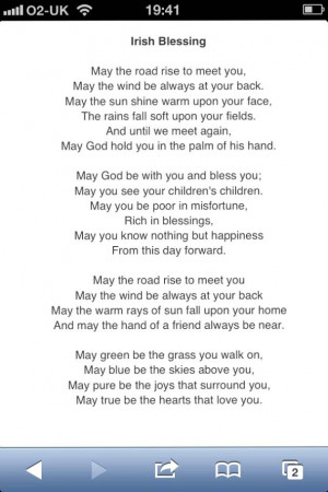 Irish Wedding Poems Quotes