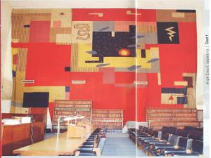 Le Corbusier Tapestry: