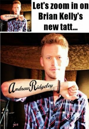 Brian Kelley's (FGL) New Tattoo: A Closer Look