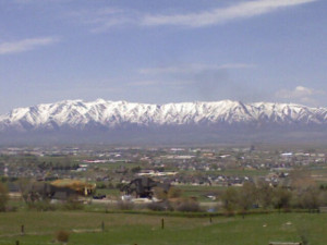 Logan Utah Real Estate view of the Cache Valley