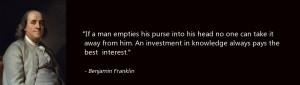 Benjamin Franklin Quotes Business