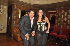 Cyrus Broacha Having Fun With Pooja Bedi