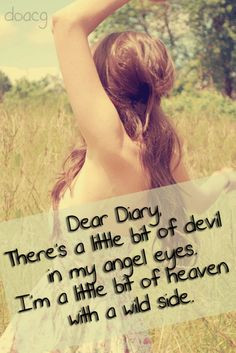 Country Dear Diary Quotes